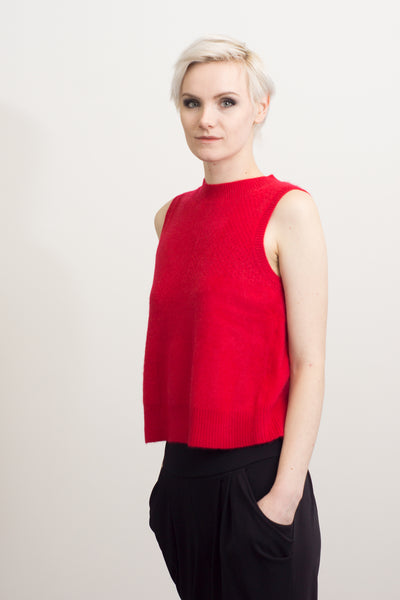 Sleeveless Cashmere