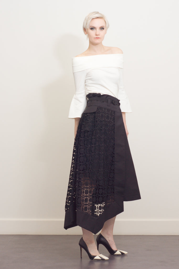 Chemical lace skirt