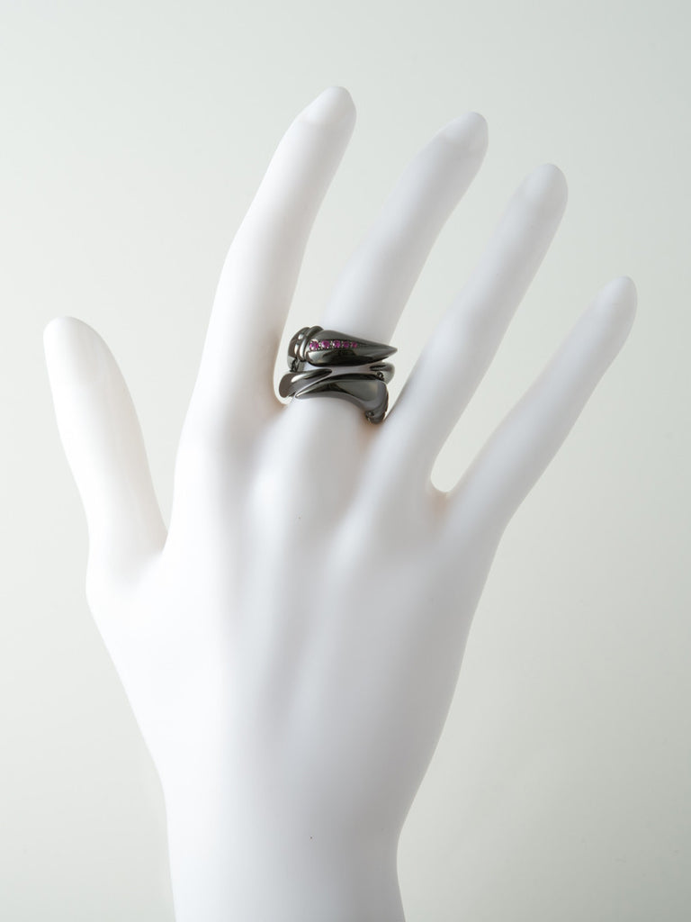 Latreia - Double claw ring - Butikku - 2