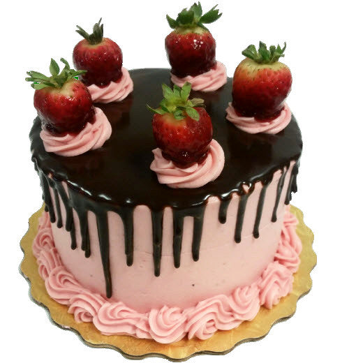 Ft Worth Bakery Strawberry Chocolate Gananche Cake Love