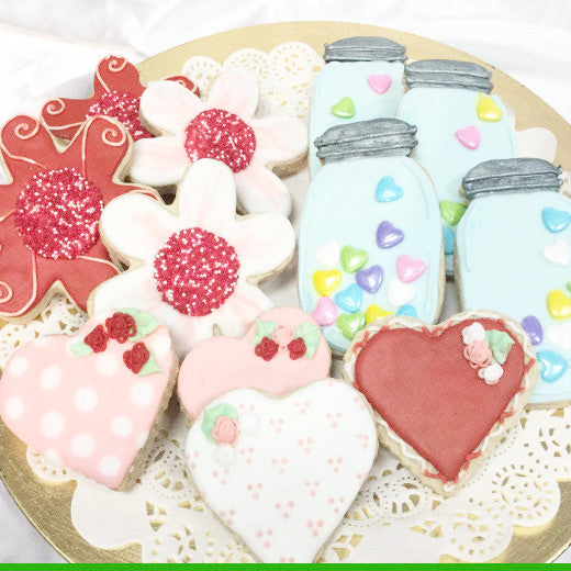 Royal Icing Valentine S Day Sugar Cookies Love Sweet Things Bakery
