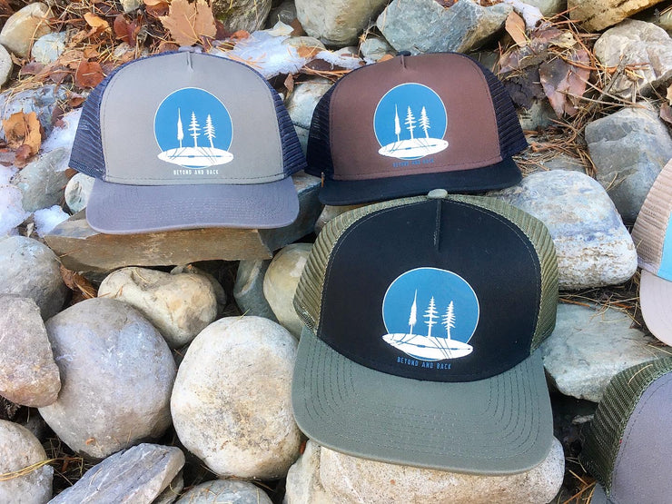 Beyond and Back - truckers hat collection