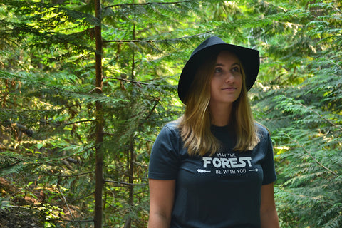 May The Forest Be With You ~ Arrow and Axe Short Sleeve