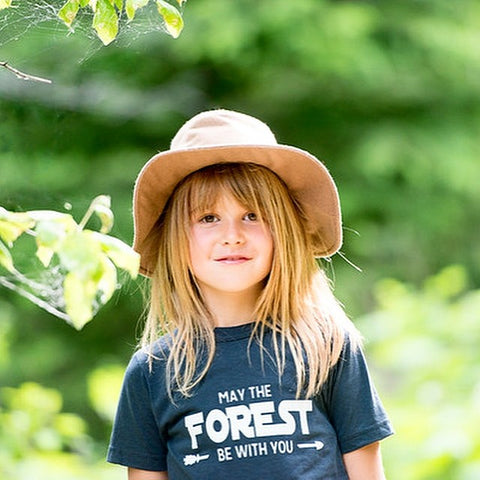 May the Forest Be With You ~ Arrow and Axe Kids and Youth Shirt
