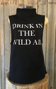 Drink In The Wild Air ~ Arrow and Axe Sleeveless Sweatshirt - Vest