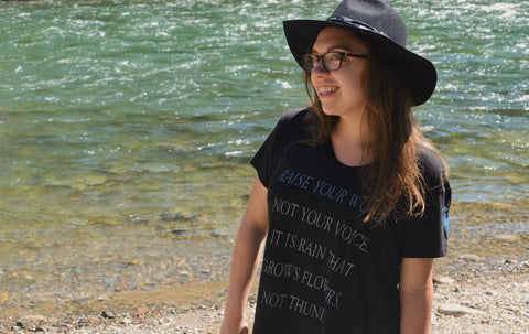 Rumi Quote ~ Arrow and Axe Women's Comfort Shirt