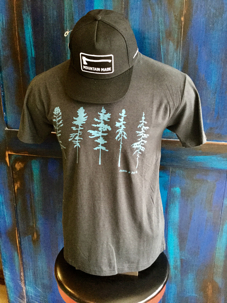 Five Trees  ~ Mens Short Sleeve