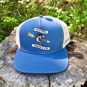 Drifters Fish Hat - Light Blue