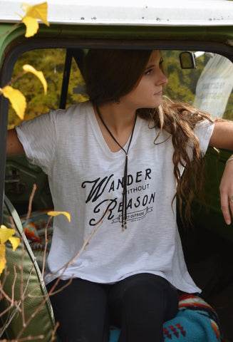 Wander Without Reason ~ Arrow and Axe Women's Comfort Shirt
