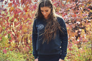 Let's Get Lost ~ Arrow and Axe Women's Sweatshirt
