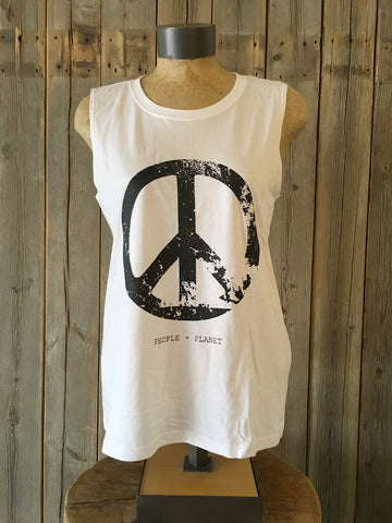 Peace, People, Planet ~ Arrow and Axe Women's Tank