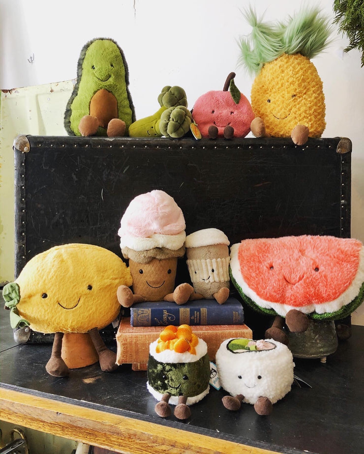 Favourite food Creatures - by Jelly Cat stuffies