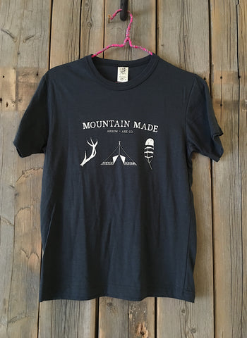Mountain Made ~ Arrow and Axe Kids and Youth Shirt