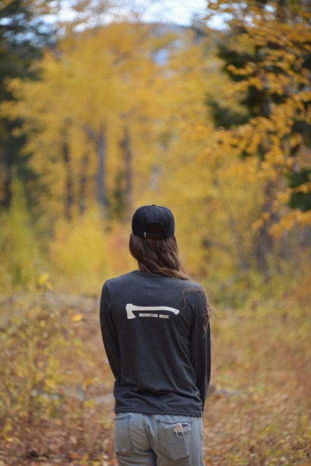 Mountain Made ~ Arrow & Axe Long Sleeve Unisex