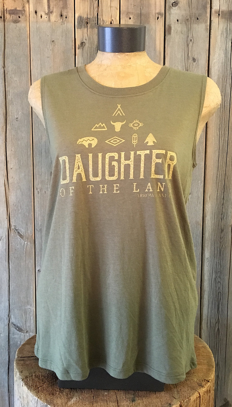 Daughter Of The Land ~ Arrow and Axe Women's Tank