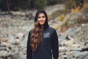 Mountain Made ~  Arrow and Axe Two Tone Unisex Hoodie