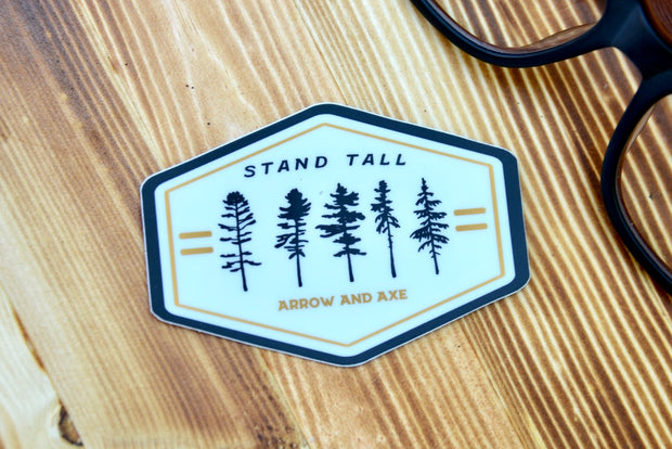 Stand Tall Sticker