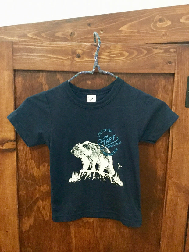 Camp Staff ~ Arrow and Axe Kids and Youth Shirt