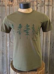 Five Trees ~ Arrow & Axe Green Short Sleeve