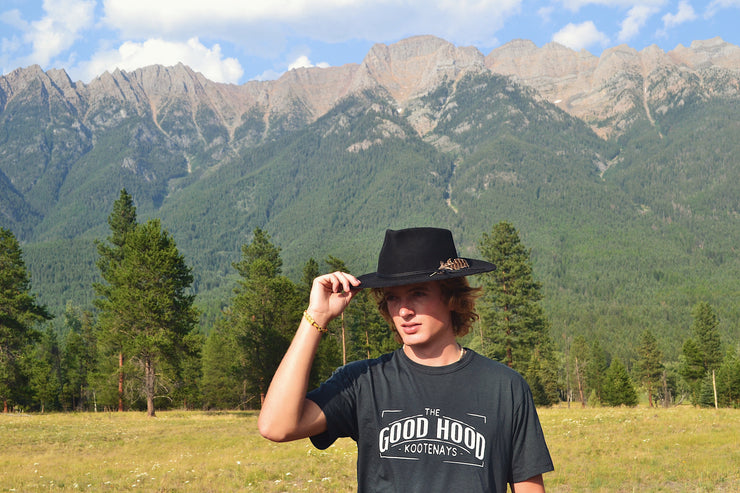 The Good Hood Kootenays ~ Arrow and Axe Short Sleeve