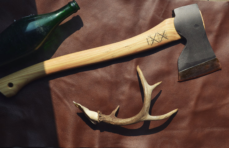 Hultafors ~ Carpenter Axe (Agdor series) - with leather sheath