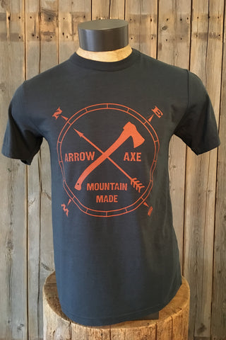 Arrow & Axe Logo ~  Mens Short Sleeve