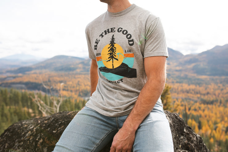 Be The Good Project ~ Arrow and Axe Short Sleeve