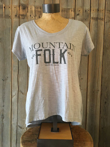 Mountain Folk ~ Arrow and Axe Women's Comfort Shirt