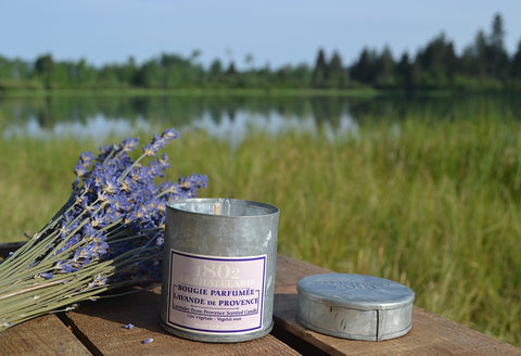 Lavender From Provence Scented Candle