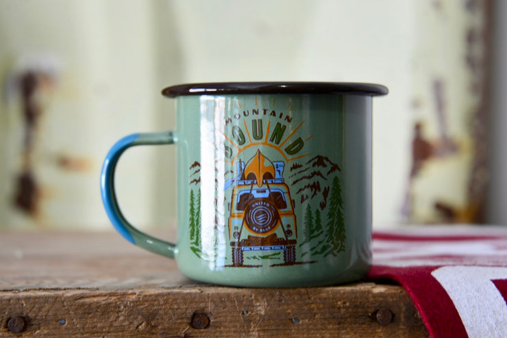 Jeep Adventure Bound Enamel Mug