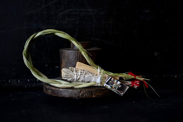 Smudge Bundle - Sweetgrass, Sage and Palo Santo