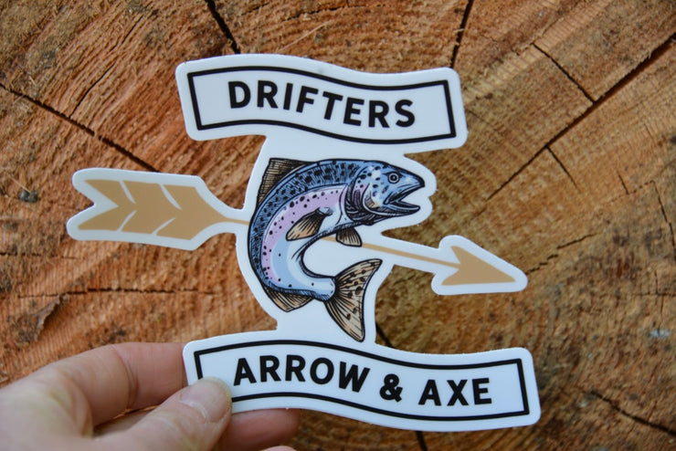 Drifters Sticker