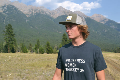 Wilderness Women Whiskey ~ Arrow and Axe Mens Shirt