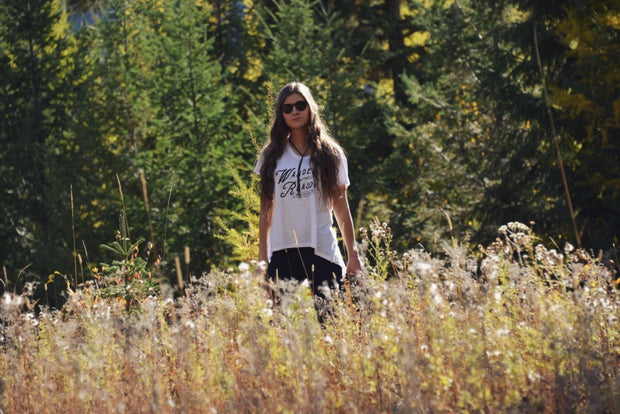 Wander Without Reason ~ Arrow and Axe Women's T-Shirt