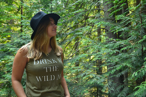 Drink In The Wild Air ~ Arrow and Axe Women's Tank