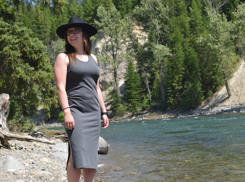 Arrow and Axe Basics ~ Women's Grey Dress