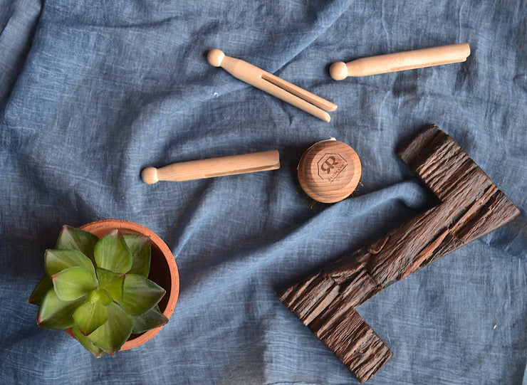 European Wooden Clothes Pins