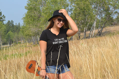 Lost In The Right Direction ~ Arrow and Axe Women's Comfort Shirt