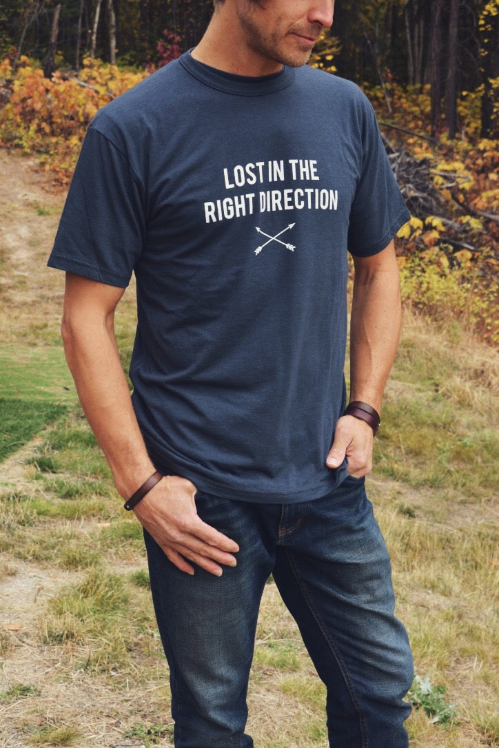 Lost In The Right Direction ~ Arrow & Axe Short Sleeve