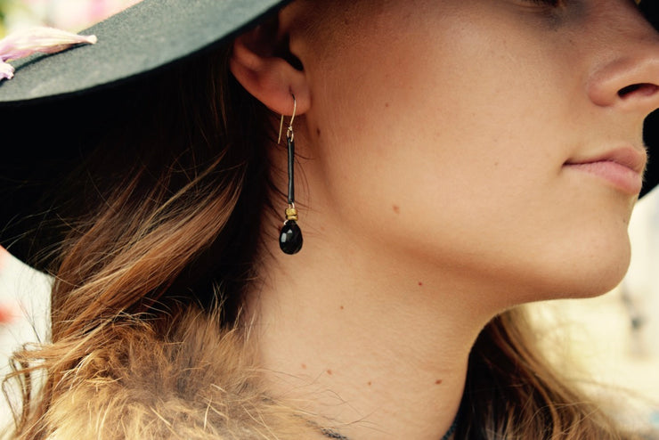 Maven Smoky Quartz Earrings
