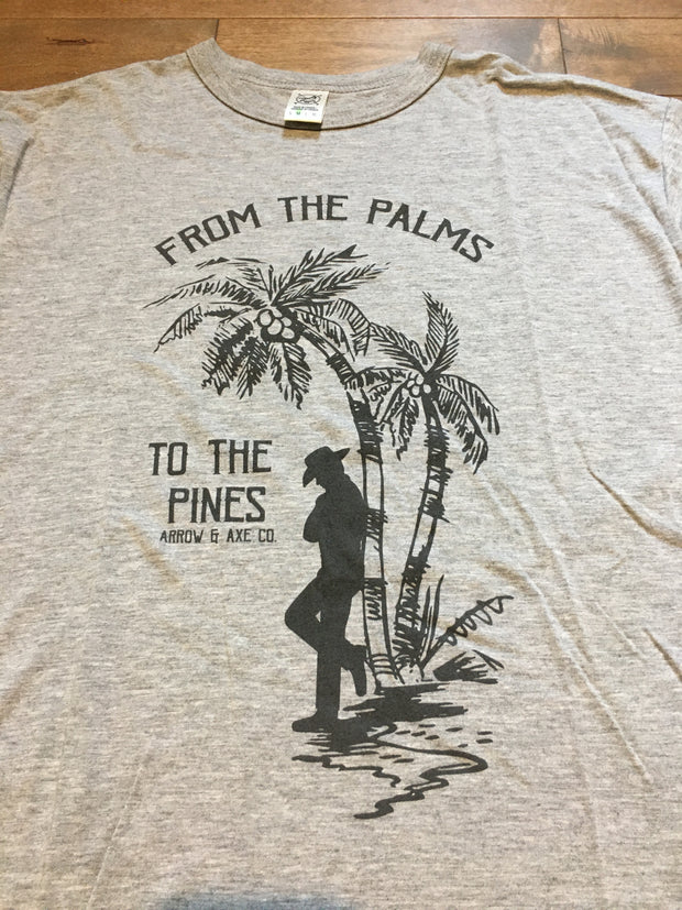 Palms to Pines ~ Arrow and Axe Short Sleeve