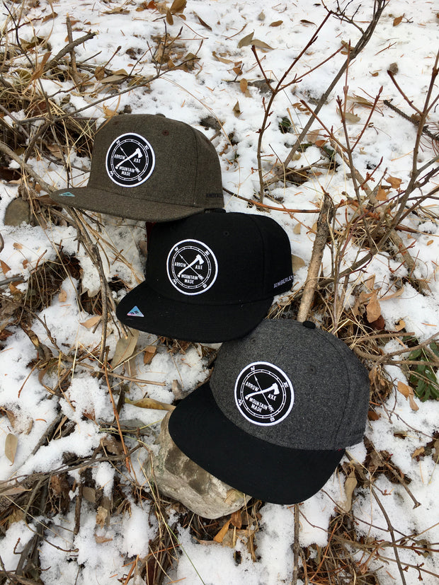 Hat - Arrow and Axe Logo - Wool hats