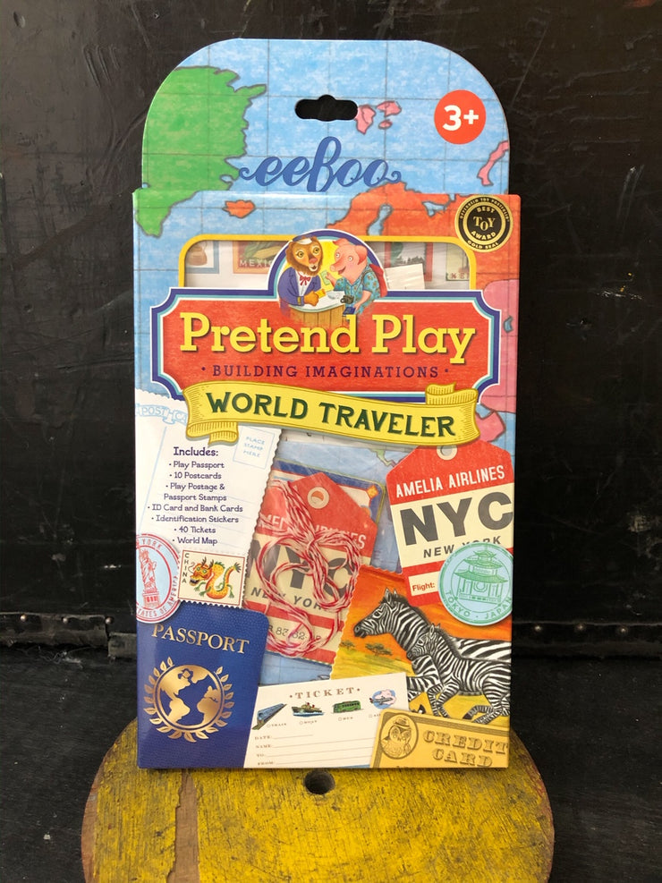 Pretend Play World Traveller