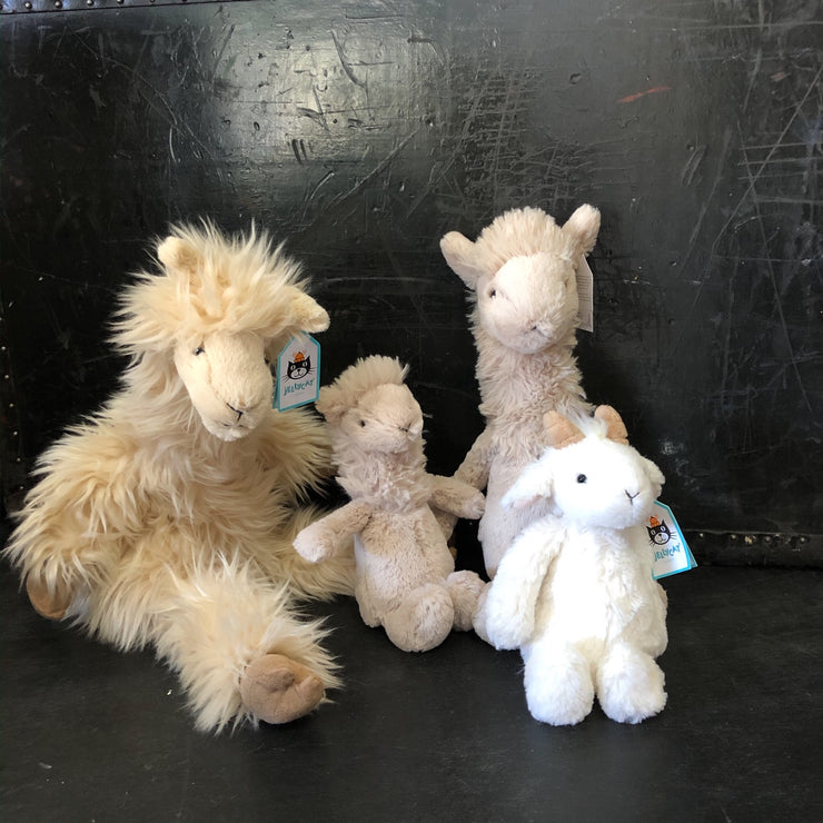 Lamas and Goats - by Jelly Cat stuffies