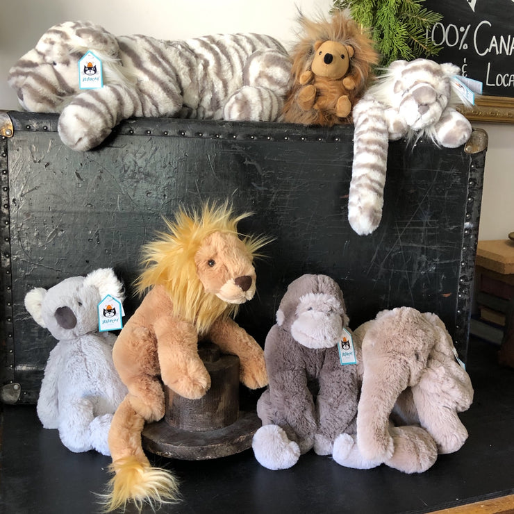 Jungle creatures - by Jelly Cat stuffies