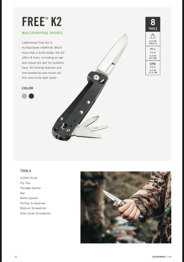 Leatherman Free Series K2