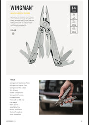 Leatherman Wingman - 14 multitool