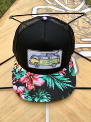 Hawaiian series hat - VW Surf edition - Lost in the right Direction