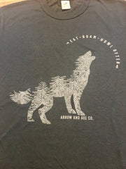 Wolf ~ Arrow & Axe Short Sleeve