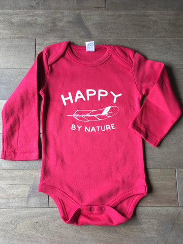 Happy by Nature ~ Arrow and Axe Onesie